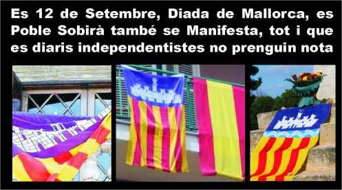 Banderes 12 Setembre, Diada