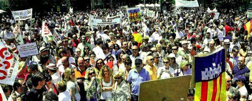 Marcha per sa Llibertat El Mundo 30-5-09